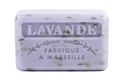 Exfoliating Soap Lavender Flowers125g