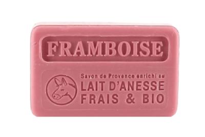 Donkey Milk French Soap - raspberry
