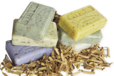 Exfoliating french soaps