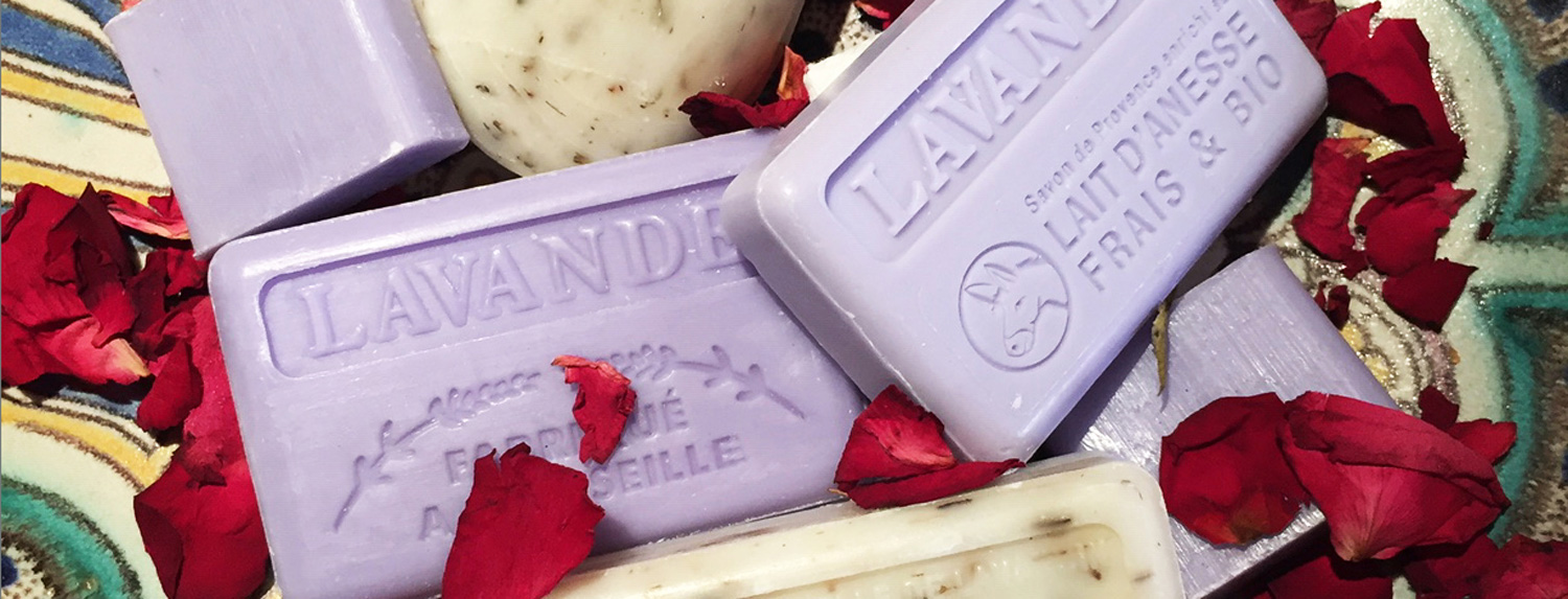 Natural French Soap Gift Boxes