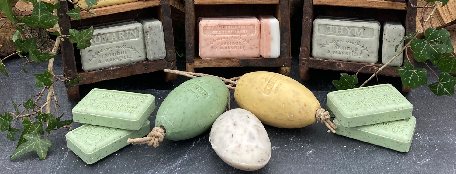 Exfoliating Soap Bars
